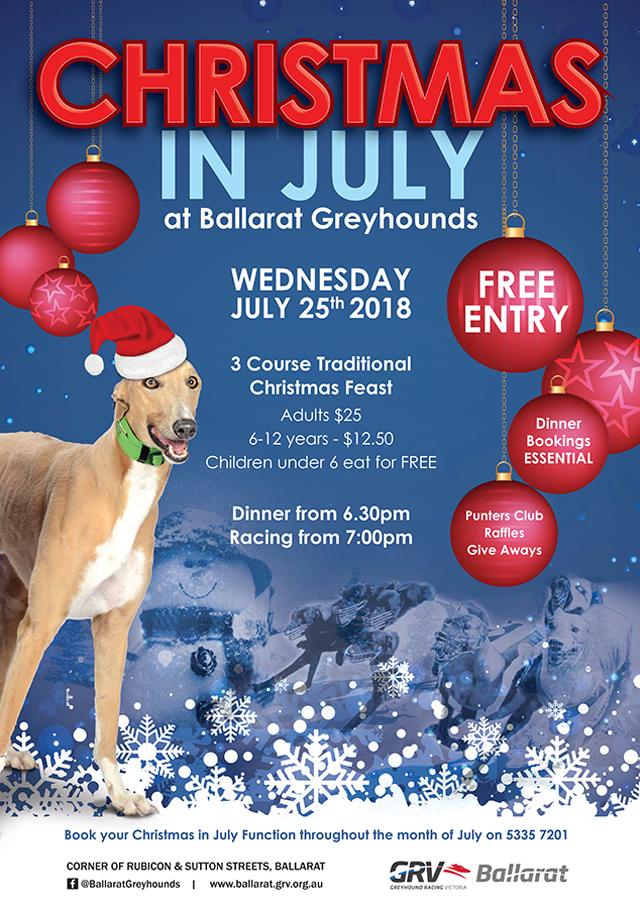 Ballarat GRC Christmas in July