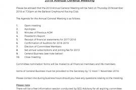 2018 Annual General Meeting