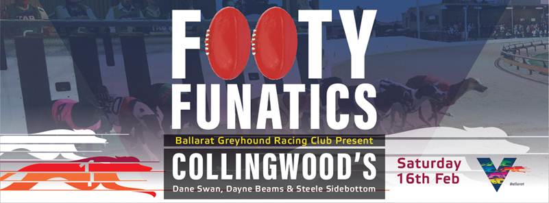 2019 Footy Fanatics Collingwood Ballarat Greyhound Racing