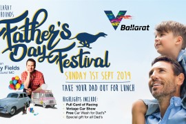 Fathers Day Festival – Take your dad out for lunch, racing and lots of entertainment