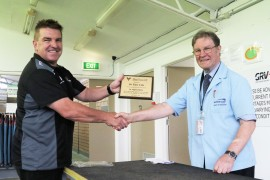Ballarat GRC farewells veteran Vet